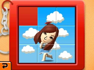 slide puzzle girl
