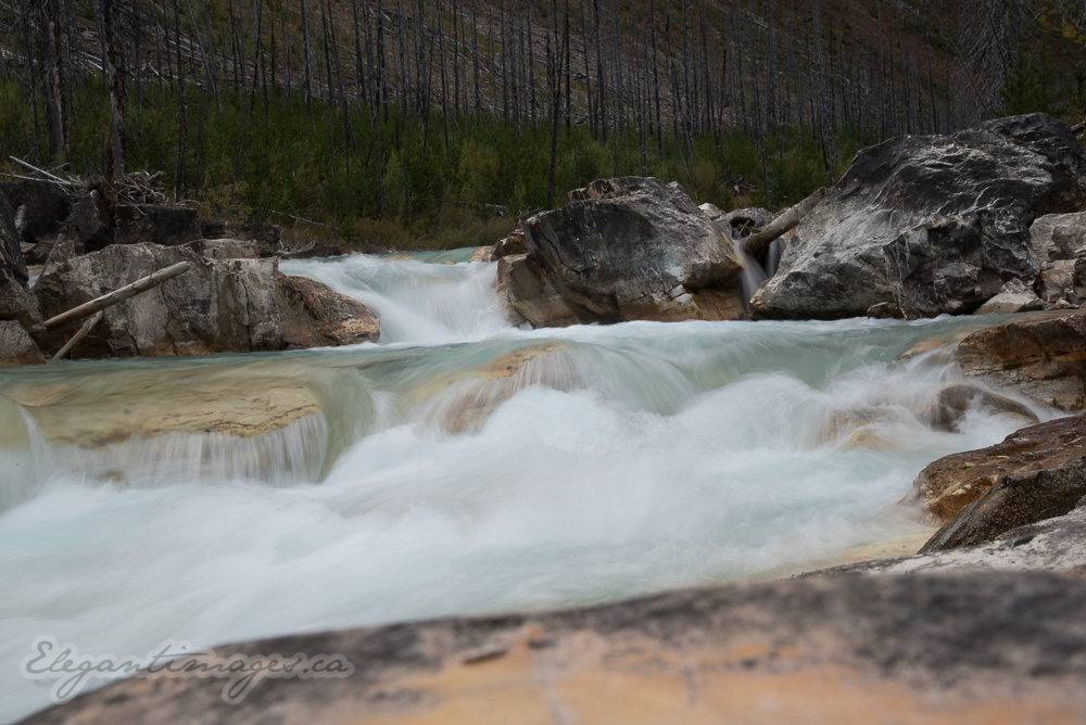Fast Flowing river near Marble canyon