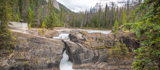 Natural Bridge Yoho National park