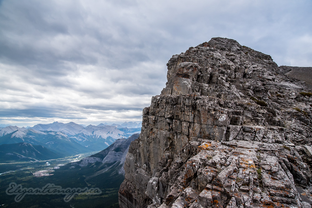 Top of Yamnuska Hike
