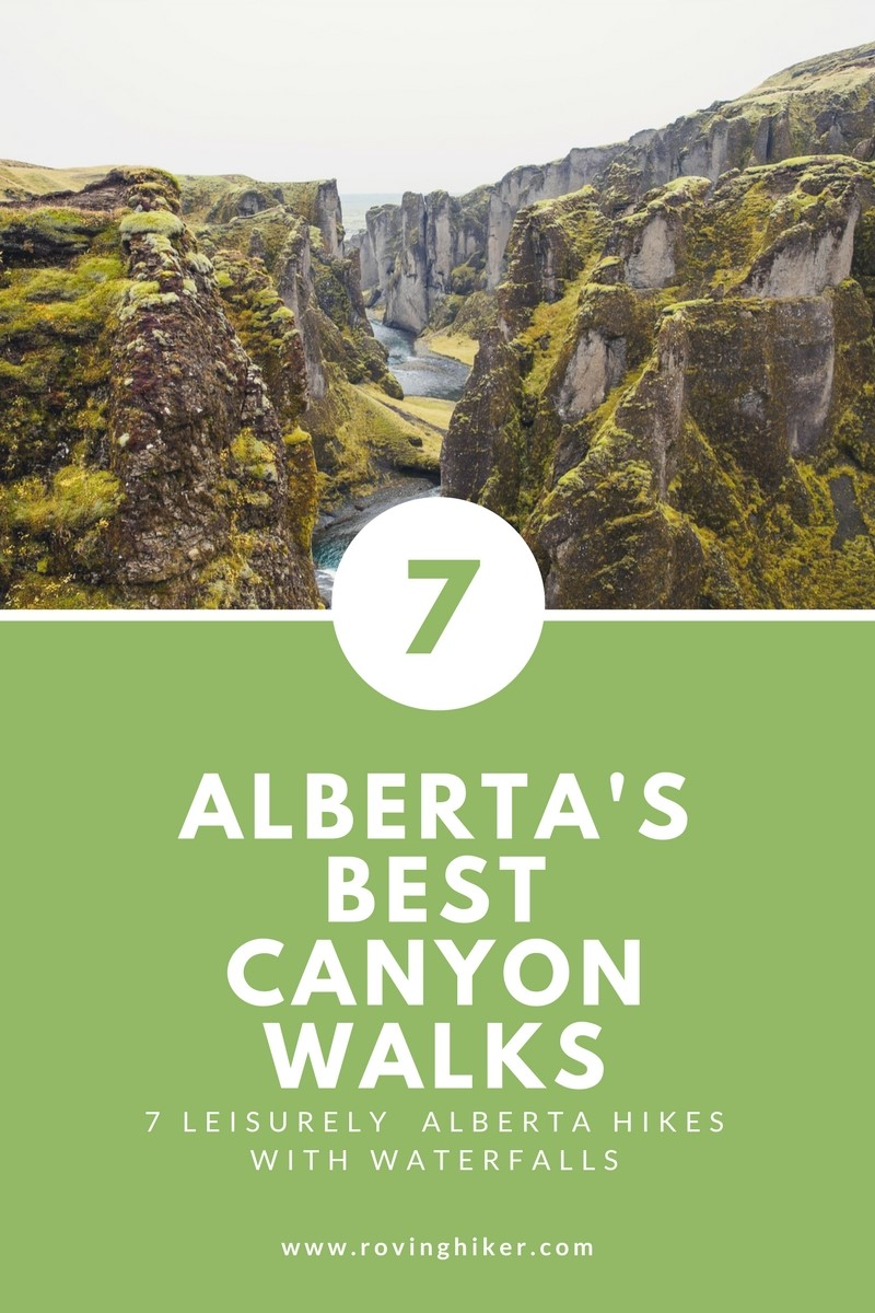7 Alberta hikes with waterfalls